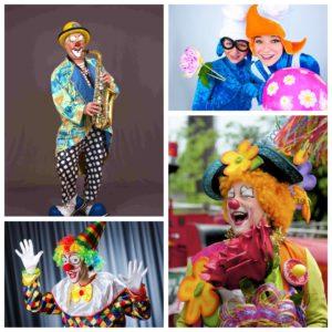 Цирковые артисты, клоуны и аниматоры, художники