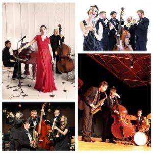Джаз бэнды, джазовые ансамбли, группы