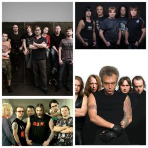 Рок-группы, исполнители