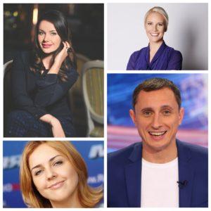 Российские ведущие, телеведущие